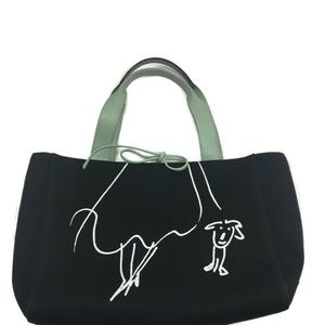 Kate Spade Maria Kalman Girl Walking Dog Purse
